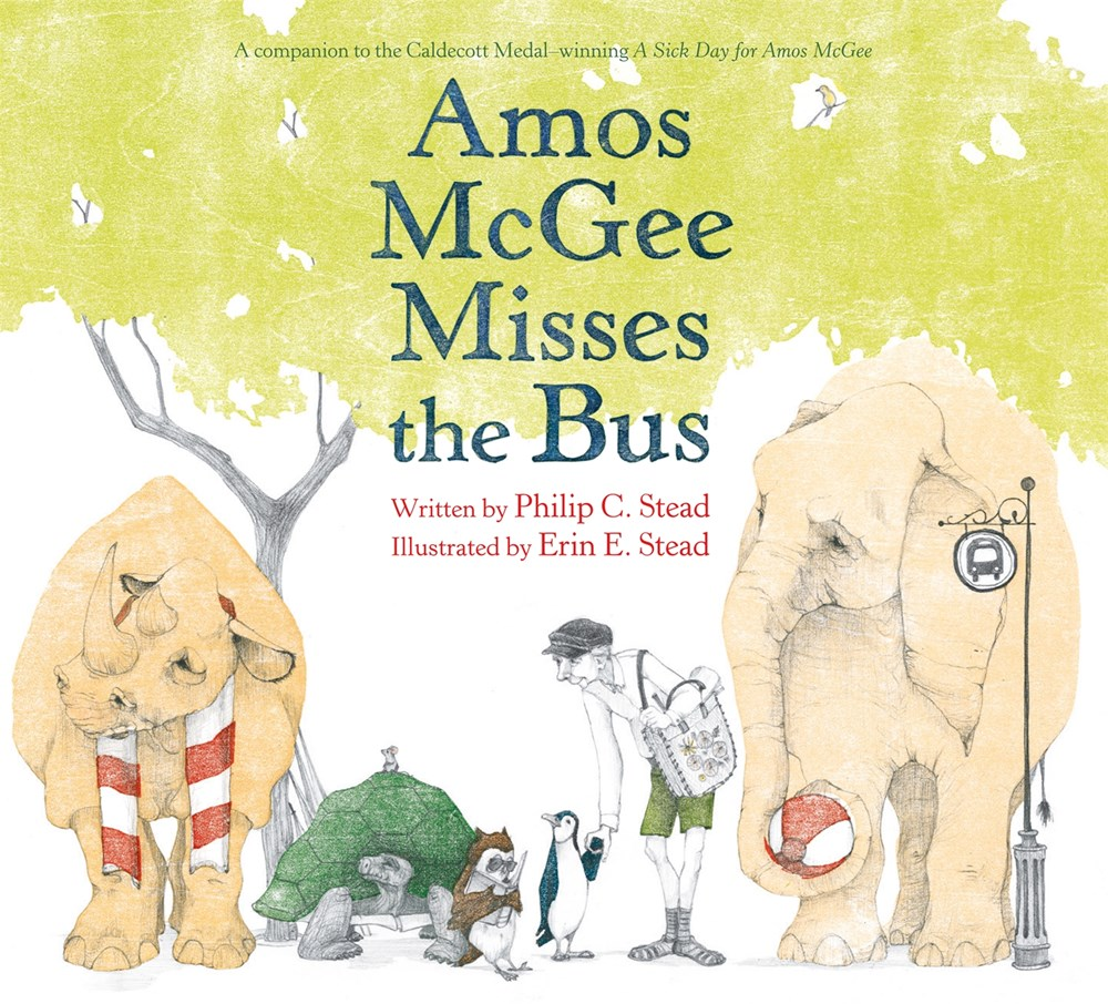 Amos McGee Misses the Bus by Philip C. Stead
