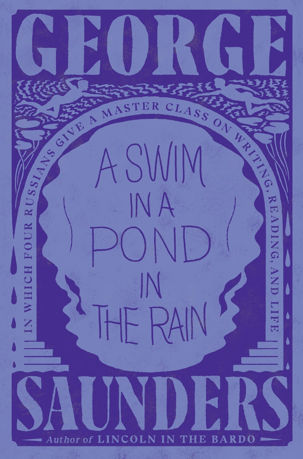 A Swim in the pond in the rain