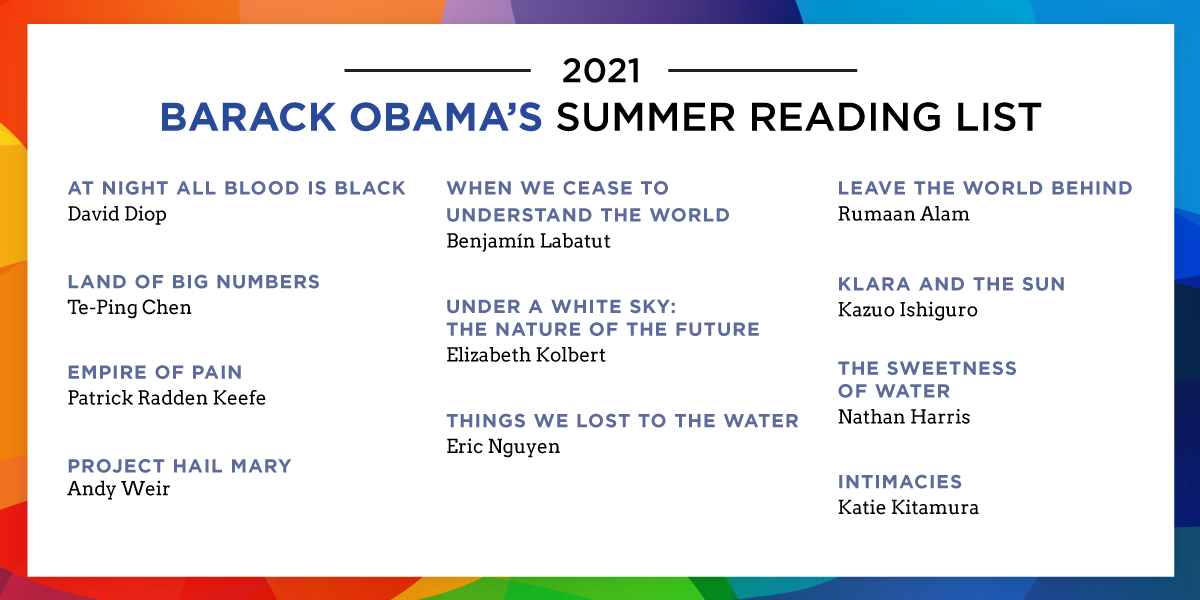 Obama's Summer Reading List